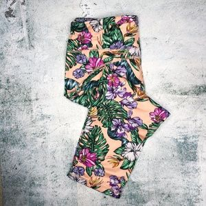 Sweaty Betty Tropical Floral Crop Leggings